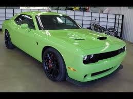 dodge challenger hellcat green. 2015 Dodge Challenger SRT Hellcat Sublime Green Indiana Dealer 17900 YouTube Inside