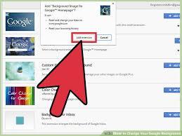 google home page design. image titled change your google background step 9 home page design