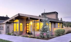 single story modern home design. Home Decor, Modern Plans For Sale Single Story House Mid Century Design