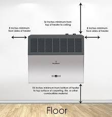 6 000 btu blue flame vent free heater