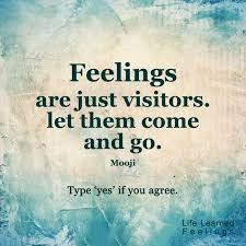 Mooji Quotes Delectable Feelings Are Just Visitors Let Them Come And Go Mooji