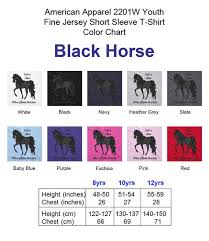 Just A Girl Who Loves Horses Your Color Choice Bay Black Buckskin Chestnut Palomino White Personalized American Apparel 2201w Youth T Shirt