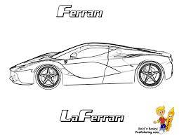Dessin De Coloriage Ferrari Imprimer Cp11438