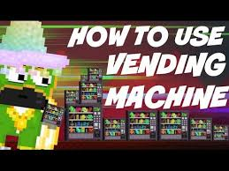 How To Make Vending Machine In Growtopia