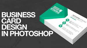 Buiness Card How To Design A Business Card In Photoshop Youtube