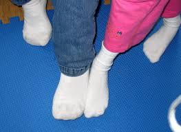 Fetish for white socks