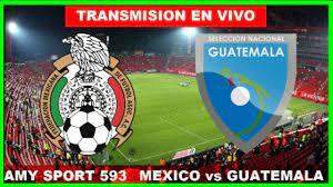 ? MEXICO VS GUATEMALA EN VIVO COPA ORO ...