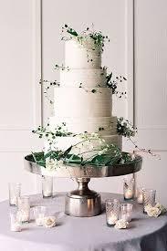 Wedding Cakes Greenery Wedding Cake Idea Weddings Greenweddings