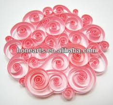 Rose Paper Flower Making Paper Flower Making Rose Quilling Paper Buy Decorative Paper Flowers Kids Crafty Simple Crafts Paper Quilling Product On Alibaba Com
