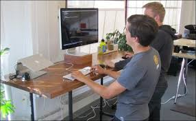 diy standing desk cinder block. Interesting Desk DIY Standing Desk To Diy Cinder Block