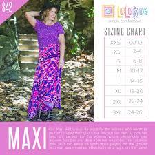 Lularoe Size Chart Size Charts For Skirts Girlpower Lularoe Boutique