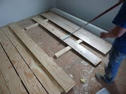 white washing plywood plank flooring