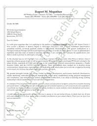 Assistant Principal's Cover Letter Example | Pinterest | Assistant ...