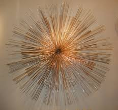 starburst metal wall art