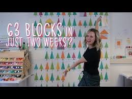 9) Sewing 63 quilt blocks + little mister VLOG - Tree Tree House quilt Part  3 - YouTube | House quilts, Quilting crafts, Quilt blocks