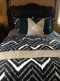 Chevron bedding | Up and Down | Pinterest