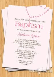 Catholic Baptism Invitations Baby Girl Rosary Baptism Invitation Products Baptism Invitations