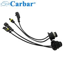 carbar car light accessories wire d2 xenon hid bulb ballast adapter EZ Wiring Harnesses for Cars at Car Accessories Wire Harness