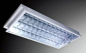 recessed fluorescent light covers for kitchen