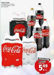 coca cola in de aanbieding
