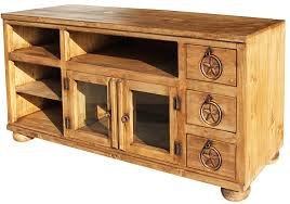 rustic pine tv stand. Wonderful Stand Rubio Star Mexican Rustic Pine TV Stand For Tv G