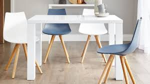 amazing white gloss modern 4 seater dining table danetti uk in white dining table and chairs attractive