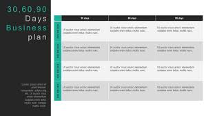 Day Plan Example Free Template For Managers New Sales Ppt