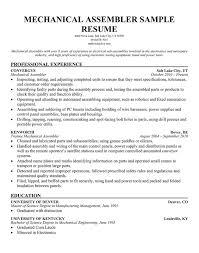 assembler resume 3 trouble production line mechanical assembler worker  resume example vinodomia - Assembly Resume Sample