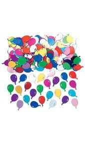 confettis de table en forme de ballons : soirée à deux ou entre amis ...