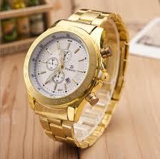 mens luxury gold watches best watchess 2017 luxury men stainless steel watch quartz business movement wrist