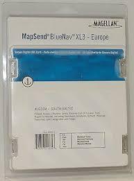 Mapsend Bluenav Charts New Magellan Mapsend Bluenav Europe Maps Xl3 South Baltic Sd