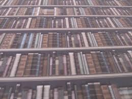 dolls house emporium miniature 112 scale traditional bookcase wallpaper bookcase dolls house emporium