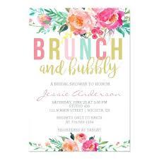Couple Wedding Shower Invitations Colorful Brunch Bubbly Bridal Shower Invitation Zazzle