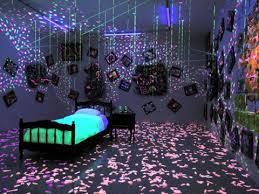 Superb Pretty Ultimate Teen Blacklight Room.