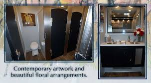 bathroom trailers. Modern Luxury Portable Restroom Trailer In NYC Bathroom Trailers