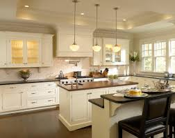 Kitchen White White Kitchen Cabinets With Dark Wood Floors Countertops For