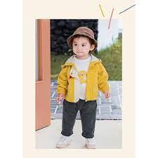 Quần Áo Trẻ Em-áo khoác hai lớp cho bé trai gái hình gà con siêu cute-thời  trang cao cấp cho bé sản xuất tại việt nam - Áo khoác mùa đông