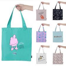 Cartoon <b>Cute Rabbit</b> Egg Canvas Tote Bag for Women 11×4×13.6 in ...