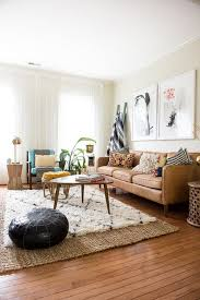 living room inspiring decorations living room tv wall brown leather couch wooden table black white
