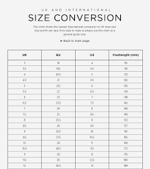 United Colors Of Benetton Size Chart Conversion 54 Precise Girls Shoe Size Chart Conversion