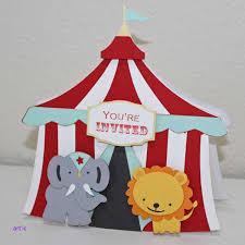 diy birthday invitaciones Único circus birthday invitations circus tent elephant lion circus