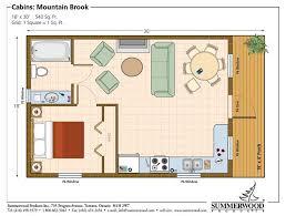 mail floorplan. Simple Cottage Kit, Floor Plan -Mountain Brook By Summerwood Products Mail Floorplan E