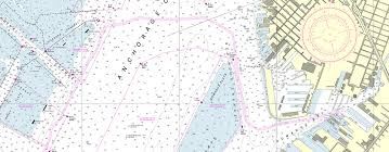Chart Of New York Harbor A New Nautical Chart For New York Harbor