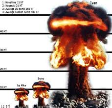 「On January 31, 1950, President Harry S. Truman announces he will support the development of the hydrogen bomb」の画像検索結果