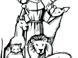 St Francis Colouring Pages St Of Coloring Pages St Of Colouring