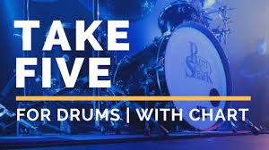 Take Five Backing Track For Drums