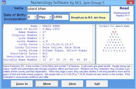 Numerology Software Full Version Download