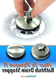 remove tub stopper remove bathtub drain stopper replace bathtub drain replacing bathtub drain plug how to