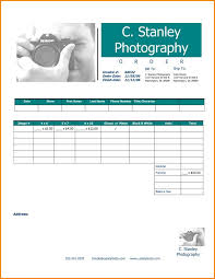 Printable Blank Invoice Template Enchanting Printable Blank Invoice Template And Photography Invoice Template