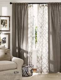 Double rod curtain ideas French Doors Patterned And Solid Drapes From Pottery Barn Living Room Windows Curtains For Dining Room Pinterest Patterned And Solid Drapes From Pottery Barn Your Pinterest Likes